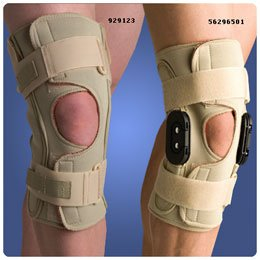 "Thermoskin Hinged Knee Wraps ROM - Size: XXXXLarge, Circ: Under Knee Cap: 24""-25?"" - Model 55467308"
