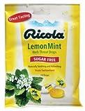Cough s Lemon Mint Sugar Free Ricola 19 Lozenge by Ricola English Manual
