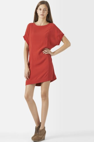 Washed Viscose Tunic Dress