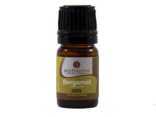Bergamot Essential Oil. 5 ml. (1/6 OZ.) 100% Pure, Undiluted, Therapeutic Grade.