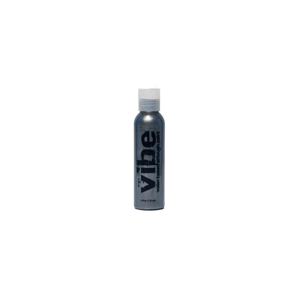 1oz Metallic Silver Vibe Face Paint Water Based Airbrush Makeup