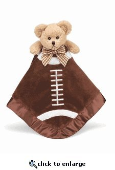 "Touchdown Football Bear Snuggler 18"" by Bearington"