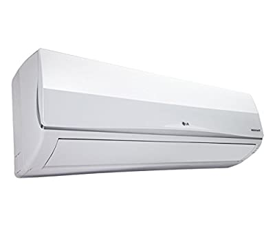 LG AS-W126B1U1 Hot and Cold Split AC (1 Ton, 5 Star Rating, White)