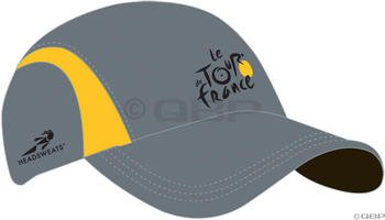 Buy Low Price Headsweats Le Tour de France AirLite Cap: Gray/Yellow (5733-494)