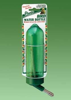 Bird Water Bottle &#8211; Green &#8211; 8 oz.
