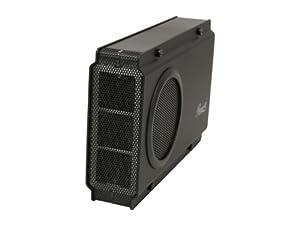 Rosewill RX-358 U3C BLK 3.5-Inch USB3.0 Aluminum and Plastic eSATA External Enclosure Hardrive, Black (RX-358 U3C BLK)