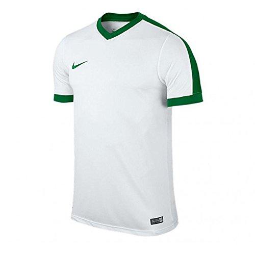 Nike SS Striker IV Jsy - Maglietta da uomo, UOMO, blanco / verde (white / white / pine green / pine green), S