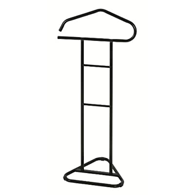 PORTER-MODERNO Clothes Valet Stand in Black Colour Metal