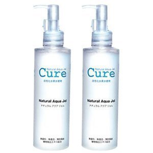 cure-2-pack-of-natural-aqua-gel-250ml-best-selling-exfoliator-in-japan