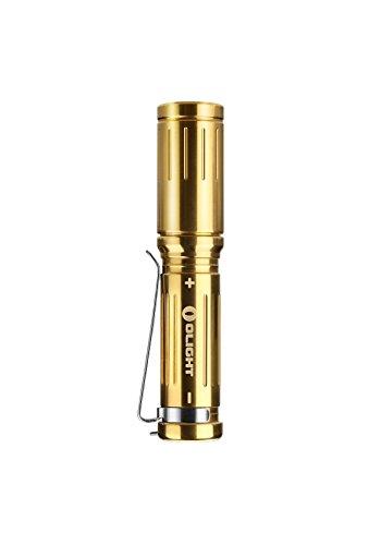 Olight® i3S-CU EOS Nouveaté Lampe de Poche Porte-clé EDC avec Cree XP-L LED 180 Lumens POLI Cadeau Noël (Global Limited Edition)