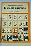 img - for El elogio oportuno book / textbook / text book