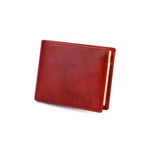 [エルゴポック] HERGOPOCH 二つ折り財布 ワキシングレザー 06W-WT2 06 Series 06シリーズ レッド HG-06W-WT2-RD