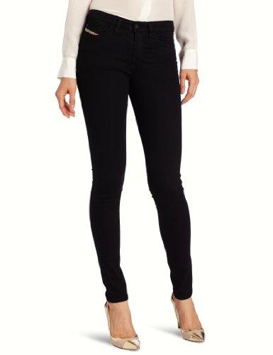 DIESEL - 00S142 0813E Skinzee L.32, Pantaloni da donna, nero (2), 28