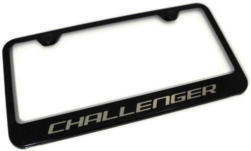 Honda Pilot Black Stainless Steel Gloss Finish License Plate Frame
