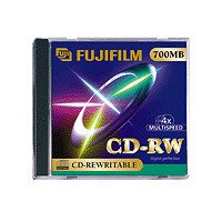 FUJIFILM CD-RW x 10 700 Mo 65250