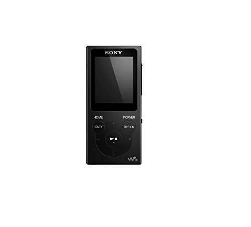 sony nwe395 b 16gb walkman mp3 player black electronics. Black Bedroom Furniture Sets. Home Design Ideas