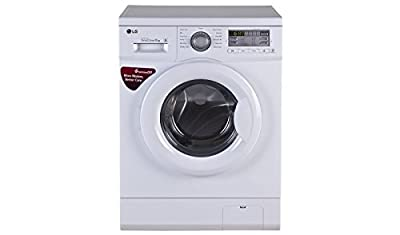 LG FH0B8NDL2 Fully Automatic Front Loading 6 kg Washing Machine (Blue White)