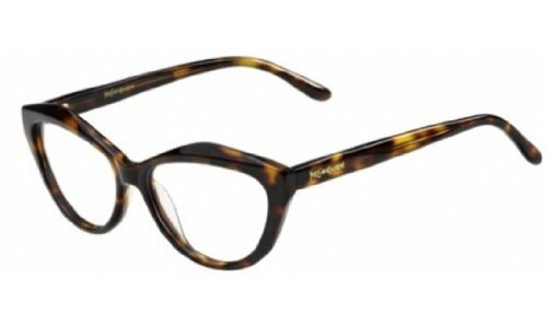 Yves Saint Laurent Yves Saint Laurent 6370 Eyeglasses-0086 Dark Havana-53mm
