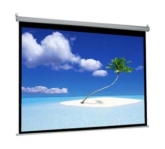 VIVO 100″ Electric Projector Screen, 100 Inch Diagonal, Motorized, Auto with Remote 16:9 Projection HD (PS-E-100 by VIVO)