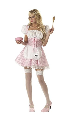 [Fancy Miss Muffet Sexy Storybook Adult Costume] (Little Miss Princess Costume)