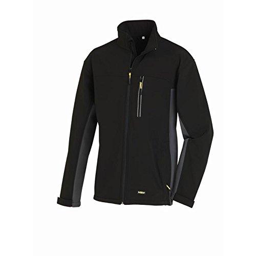 Texxor 4141 - giacca da lavoro traspirante, xl, nera