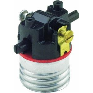Images for Leviton 7080-M Medium Base Interior Only, Shell Incandescent Lampholder, Push-Through, Single Circuit,