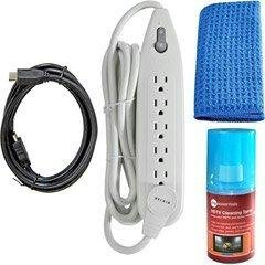 Belkin PureAV HDTV Essentials Kit with HDMI Cable, Surge Protector and Cleaning Spray from Belkin Components