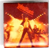 "Judas Priest ~ Judas Priest Button~ Rare Vintage Button!!~ Approx 1"" X 1"""
