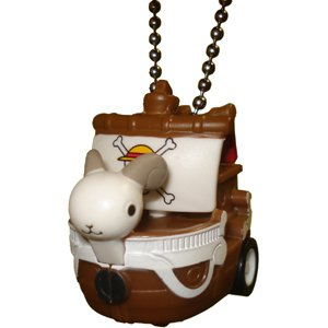 One Piece Action Mascot Cruise Ship Boat Key Chain Figure Bandai - One Going Merry Keychain