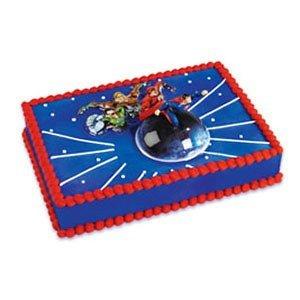 Justice League Birthday Cake Walmart