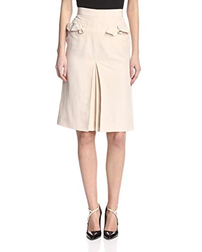 Valentino Women's Skirt with Pocket Ruffles