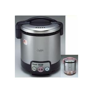 【クリックで詳細表示】リンナイ 電子ジャー付きガス炊飯器(都市ガス12A・13A用) 【こがまる】 1~5.5合 ブラック RR-055VL-13A: ホーム&キッチン