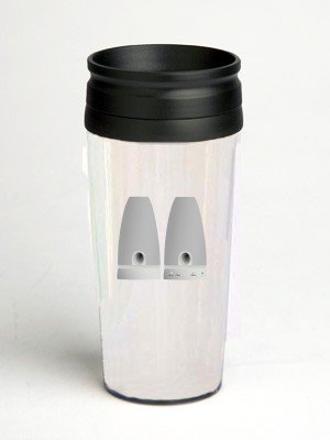 16 oz. Double Wall Insulated Tumbler with pc speaker - Paper Insert