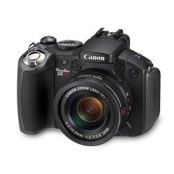 Canon PowerShot S5 IS Digital Camera - Black (8.0MP, 12x Optical Zoom) 2.5