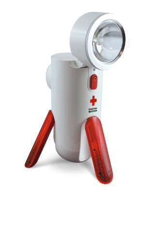 Eton Arcpt100W American Red Cross Road Torq Self-Powered Spotlight And Emergency Beacon