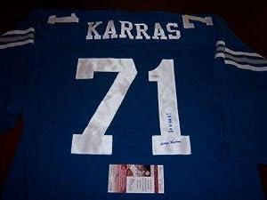 Alex Karras Autographed Jersey - iowa Hawkeyes Jsa coa by Sports+Memorabilia
