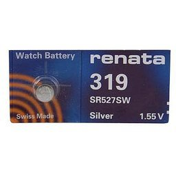 Rayovac 319 Watch Coin Cell Battery from Renata renata 927 1 55v lithium ion sr927sw button cell battery for wrist watch 10pcs