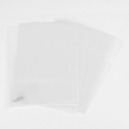 Uxcell Reuseable Clear File Folder Holder For A4 Paper Document 20 Pcs