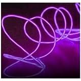 Portable EL Wire 10 Feet Long (Purple)