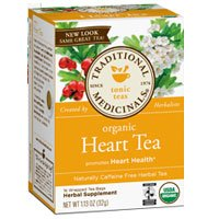 Organic Heart Tea, 16 bag (Pack of 3)