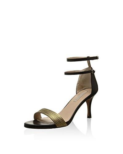 Pura Lopez Sandalo Con Tacco