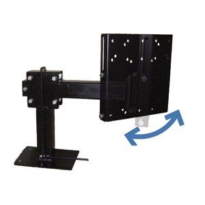 Mor ryde tv40001hs short slide out and swivel - Vertical sliding tv wall mount ...