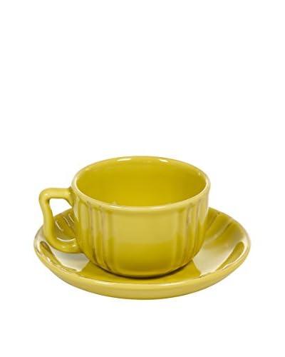SCANDI CHIC Set Taza De Cafécon Plato 6 Uds.