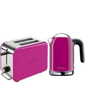 Red Toaster 4 Slice Kenwood K-mix Boutique 2slice Toaster Magenta TTM029 + 1 ...