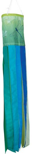 Premier Kites 78641 Brilliance Windsock, Lacey Dragonfly, 6 by 40-Inch