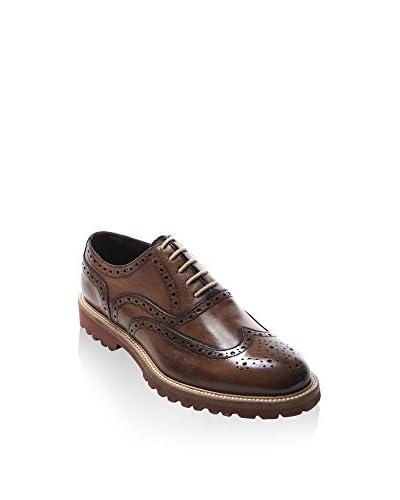 BRITISH PASSPORT Zapatos Oxford Wing Cap Marrón