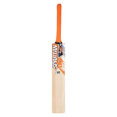 Spartan MSD King Kashmir Willow Cricket Bat, Size 6