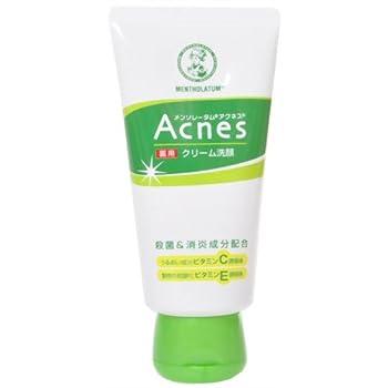 メンソレータム アクネス 薬用 クリーム 洗顔
