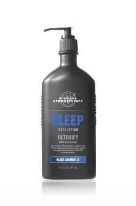 バス &ワークス アロマセラピー スリープ ブラック カモミールローション Aromatherapy Sleep Black Chamomile Body Lotion