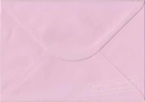Premier Envelopes Pastel Baby Pink C5 - 162 Mm X 229 Mm 100Gsm Gummed Envelope (Pack Of 100)